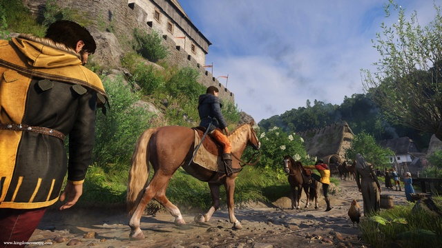 Kingdom Come: Deliverance -- Adaptive music engineering and composition